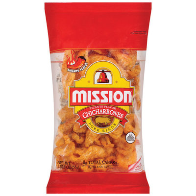 Mission Chicharrones Picante Pork Rinds 1.875 Oz Bag