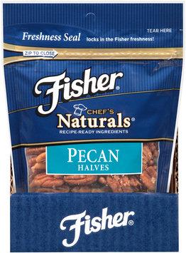 Fisher® Chef's Naturals® Pecan Halves 6 oz. Bag