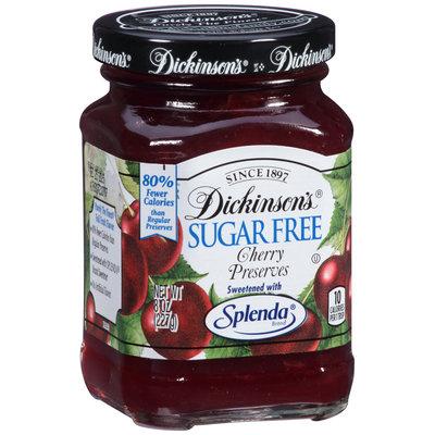 Dickinson's® Sugar Free Cherry Preserves 8 oz. Jar