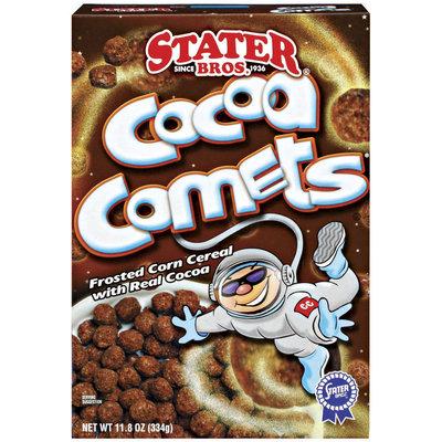 Stater Bros. Cocoa Comets Cereal 11.8 Oz Box