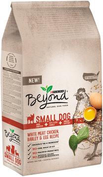 Purina Beyond Small Dog White Meat Chicken, Barley & Egg Recipe Dog Food Bag