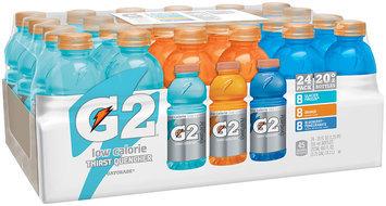 G2® Glacier Freeze®/Orange/Blueberry-Pomegranate Sports Drink Variety Pack 24-20 fl. oz. Bottles