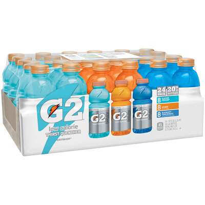G2® Glacier Freeze®/Orange/Blueberry-Pomegranate Sports Drink Variety Pack 24-20 fl. oz. Bottles