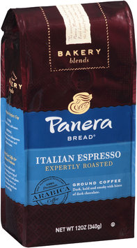 Panera Bread® Bakery Blends Italian Espresso Expertly Roasted Ground Coffee 12 oz. Bag