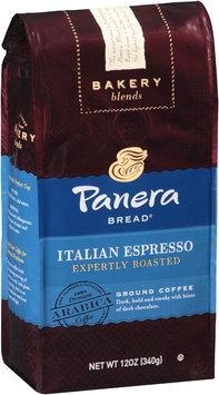 Panera Bread® Bakery Blends Italian Espresso Expertly Roasted Ground Coffee 12 oz. Bag