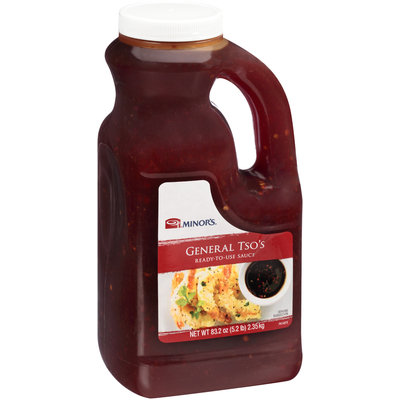 Minor's® General Tso's Sauce 83.2 oz. Plastic Container