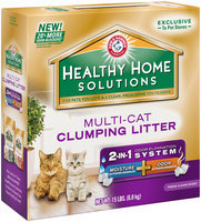 Arm & Hammer™ Healthy Home Solutions Multi-Cat Clumping Litter 15 lbs. Box