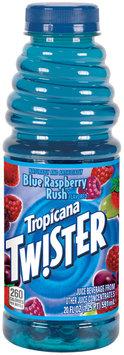 TWISTER Blue Raspberry Rush Juice Beverage 20 OZ PLASTIC BOTTLE