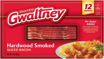 Gwaltney® Hardwood Smoked Sliced Bacon 12 oz. Box