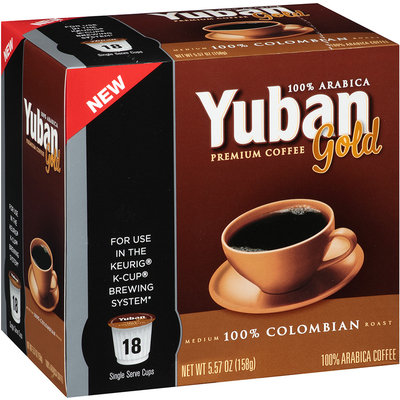 Yuban Gold 100% Colombian Coffee
