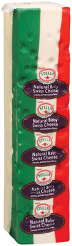 Stella® Baby Swiss Natural Cheese 7 Lb Loaf