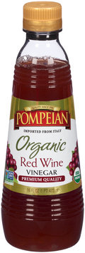 Pompeian® Organic Red Wine Vinegar 16 fl. oz. Bottle