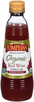 Pompeian® Organic Red Wine Vinegar 16 fl. oz. Bottle