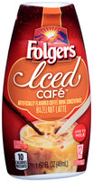 Folgers Iced Cafe™ Hazelnut Latte Coffee Drink Concentrate 1.62 fl. oz. Squeeze Bottle