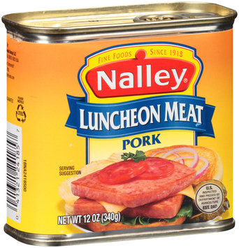 Nalley® Pork Luncheon Meat 12 oz. Can