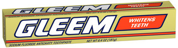 Gleem Anti-Cavity Toothpaste 6.4 oz. Carton