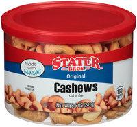 Stater Bros.® Whole Original Cashews 8.5 oz. Canister