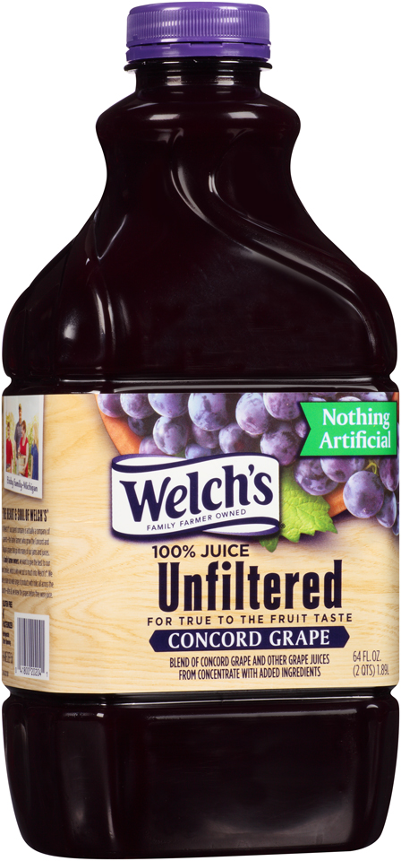 Welch's® Unfiltered Concord Grape 100% Juice