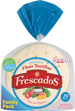 Frescados™ Taco Style Flour Tortillas 20 oz. Bag