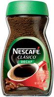 NESCAFE CLASICO Dark Roast Decaf Instant Coffee 12-3.5 oz Jars