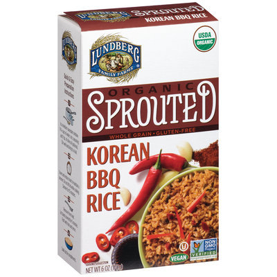Lundberg Family Farms® Organic Sprouted Korean BBQ Rice 6 oz. Box