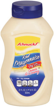 Schnucks® Real Mayonnaise 22 fl oz