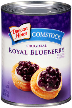 Duncan Hines® Comstock® Original Royal Blueberry Pie Filling & Topping 21 oz. Can