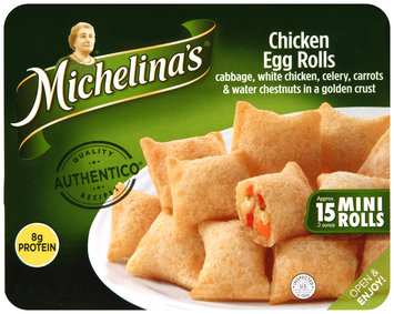 Michelina's® Chicken Mini Egg Rolls 4.5 oz. Tray