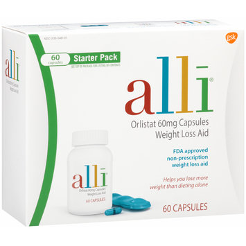 Alli® Starter Pack Weight Loss Aid Capsules 60 ct Box