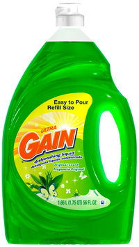 Gain® Ultra Original Dishwashing Liquid 56 fl. oz. Plastic Bottle