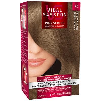 Vidal Sassoon Pro Series 7C Dark Cool Blonde Hair Color Kit
