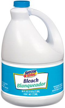 Special Value  Bleach 96 Fl Oz Jug