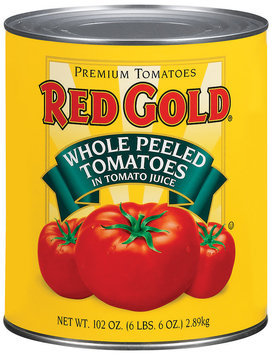 Red Gold Whole Peeled In Tomato Juice Tomatoes 102 Oz Can