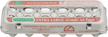Haggen Extra Large Farm Fresh Grade AA Eggs 12 Ct Carton