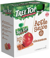 Tree Top® Cinnamon Apple Sauce 3.2 oz. Pouch