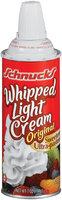Schnucks Light Original Whipped Cream