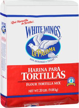 White Wings® La Paloma Flour Tortilla Mix 20 lb. Bag