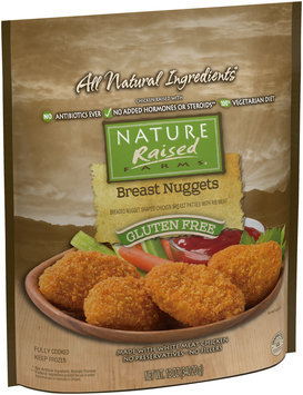 NatureRaised Farms® Gluten Free Breast Nuggets 12 oz. Bag