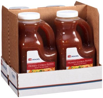 Minor's® Honey Citrus Pepper Ready-to-Use Sauce 5.0 lb. Jug