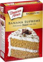 Duncan Hines® Signature Banana Supreme Cake Mix 16.5 oz. Box
