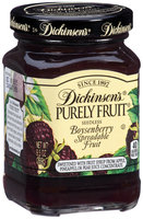 Dickinson's® Purely Fruit® Seedless Boysenberry Spreadable Fruit 9.5 oz. Jar
