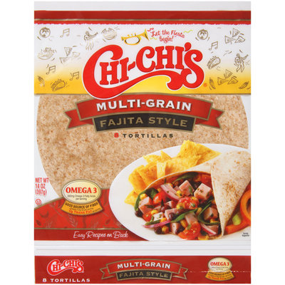 Chi-Chi's® Multi-Grain Fajita Style Tortillas 8 ct Bag