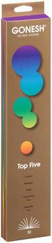 Gonesh® Top Five Incense Sticks 50 ct Carded Pack