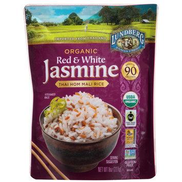 Lundberg Family Farms® Organic Red & White Jasmine Rice 8 oz. Pouch