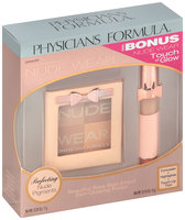 Physicians Formula® Nude Wear™ Glowing Nude Bronzer 6421 Light 0.24 oz. with Bonus Touch of Glow 0.14 oz. Box