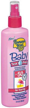 Banana Boat Baby Tear Free SPF 50 Sunblock 8 Fl Oz Plastic Bottle