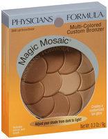 Physicians Formula® Magic Mosaic® Light Bronzer/Bronzer Multi-Colored Custom Bronzer 0.3 oz Peg