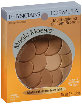 Physicians Formula® Magic Mosaic® Light Bronzer/Bronzer Multi-Colored Custom Bronzer 0.3 oz Peg