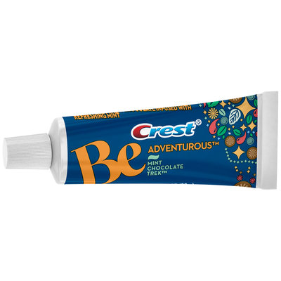 Crest Be Adventurous Mint Chocolate Trek Flavor Toothpaste