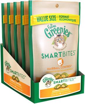 Feline Greenies® Smartbites™ Hairball Control Chicken Flavor Cat Treats 4.6 oz. Bag